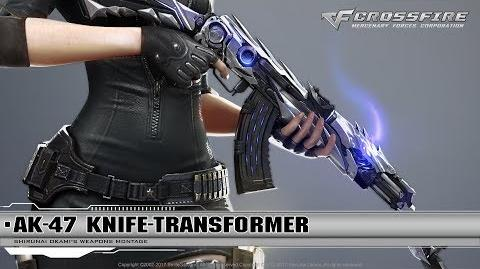 CrossFire Promotion AK-47-Knife Transformer (CG)
