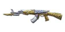 AK-47 Knife Born Beast Imperial Gold