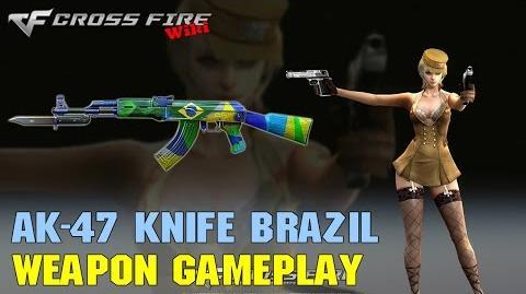 CrossFire - AK-47 Knife Brazil - Weapon Gameplay