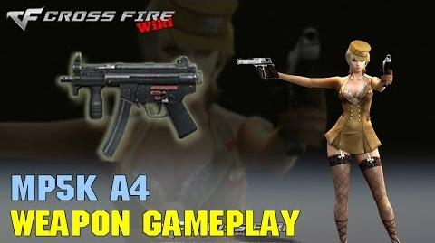 CrossFire - MP5K A4 - Weapon Gameplay