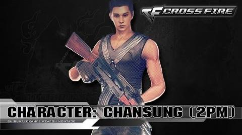 CrossFire Character CHANSUNG - 2PM ☆