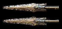 Invisible Assassin Sword Gemini