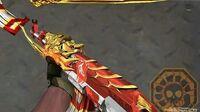 【CF】 Cross Fire China AK47-Beast AG All Gamers (火麒麟-AG) VVIP Weapon Skin!