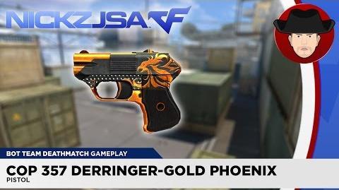 COP 357 Derringer-Gold Phoenix - CROSSFIRE China 2