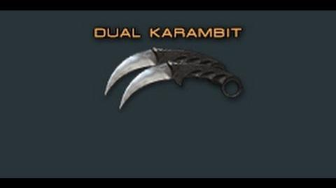 Cross Fire China Dual Karambit Review !