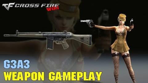 CrossFire - G3A3 - Weapon Gameplay
