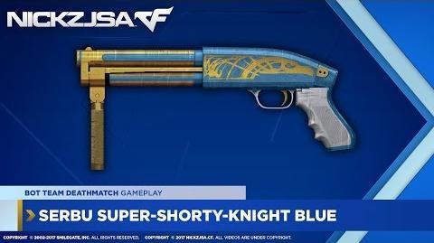 Serbu Super-Shorty-Knight Blue CROSSFIRE China 2.0