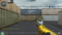 Cat Rifle M4A1-SIA Noble Gold HUD