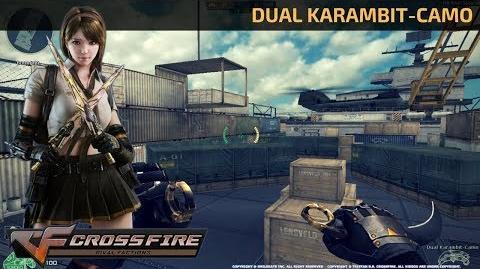 CrossFire Vietnam - Dual Karambit-Camo