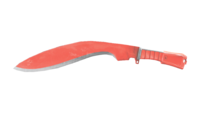 KUKRI-RED CRYSTAL