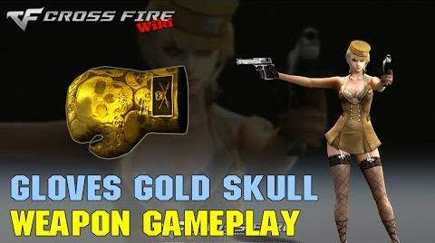 CrossFire - Boxing Gloves Gold Skull - Weapon Gameplay
