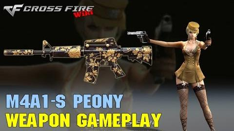 CrossFire - M4A1-S Peony - Weapon Gameplay