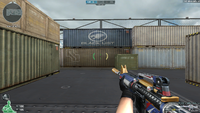 M4A1 S DMZ 9th NO MARK HUD 2