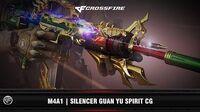 CF M4A1 Silencer Guan Yu Spirit CG (2017)