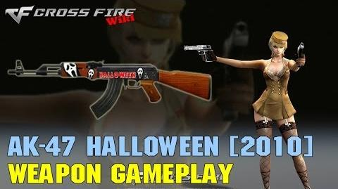 CrossFire - AK-47 Halloween (2010) - Weapon Gameplay