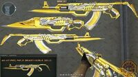 CrossFire China AK47-Red Rifle Beast Noble Gold (王者之鲨) CF News