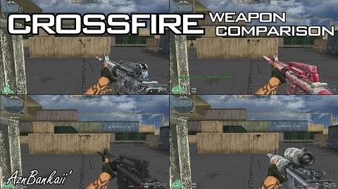 CrossFire M4A1-S Blue Pottery Comparison AznBankaii