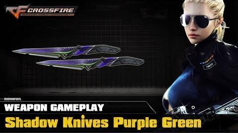 CrossFire VN - Shadow Knives Purple Green
