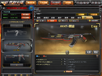 AK-47-Red Knfe Beast