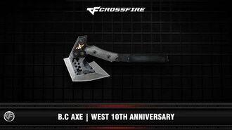 CF B.C Axe West 10th Anniversary