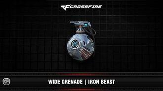 CF Wide Grenade Iron Beast (VIP)