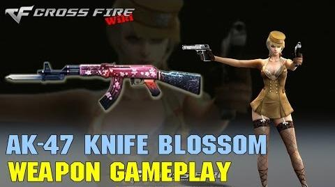 CrossFire - AK-47 Knife Blossom - Weapon Gameplay