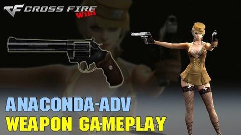 CrossFire - Anaconda Adv - Weapon Gameplay