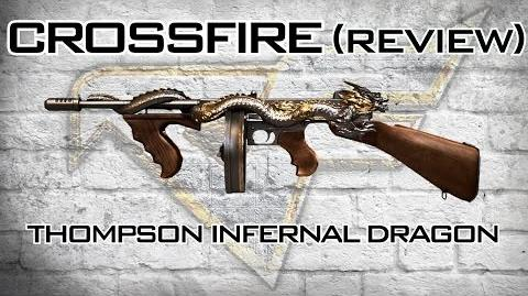 CrossFire - Thompson INFERNAL DRAGON Review ZM CRATER WAVE 31 Gameplay