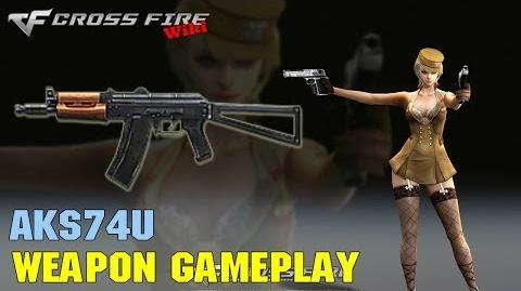 CrossFire - AKS74U - Weapon Gameplay