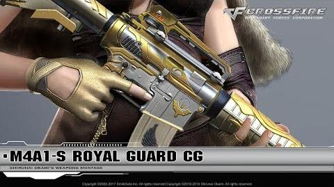 CrossFire Promotion M4A1-S Royal Guard (CG)
