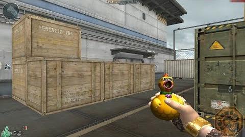 Cross Fire China Grenade-Rubber Chicken (惨叫鸡手雷) Beta!
