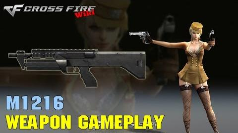 CrossFire - M1216 - Weapon Gameplay