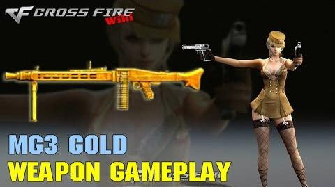 CrossFire - MG3 Gold - Weapon Gameplay