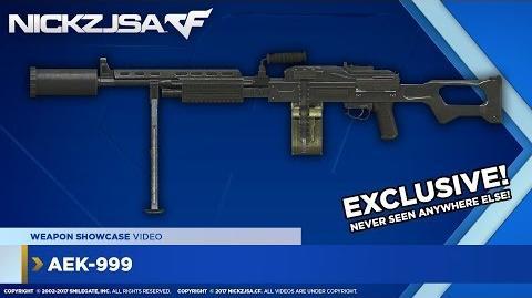 AEK-999 (Quick Weapon Showcase) CROSSFIRE North America 2.0