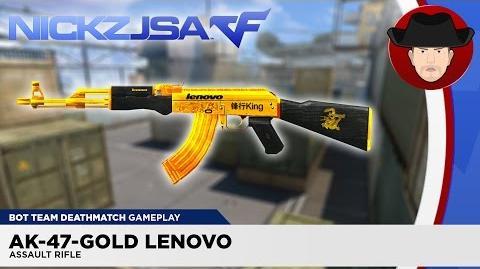 AK-47-Gold Lenovo CROSSFIRE China 2
