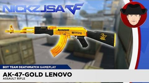 AK-47-Gold Lenovo CROSSFIRE China 2.0