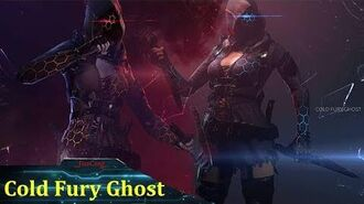 Cold Fury Ghost Character CrossFire
