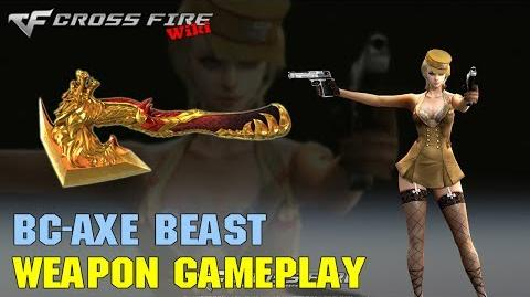 CrossFire - BC-Axe Beast - Weapon Gameplay