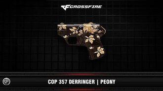 CF COP 357 Derringer Peony