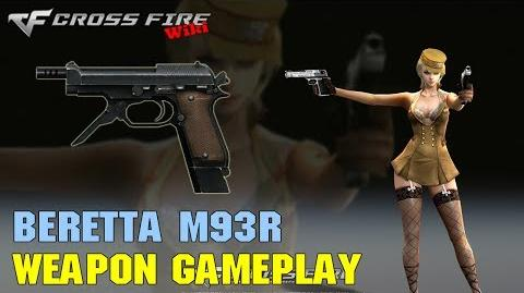 CrossFire - Beretta M93R - Weapon Gameplay