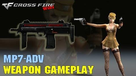 CrossFire - MP7 Adv - Weapon Gameplay