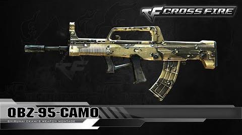 CrossFire Korea QBZ-95-Camo ☆