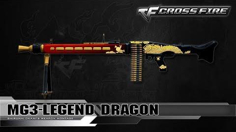 CrossFire Vietnam MG3-Legend Dragon ☆