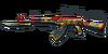 AK47 Knife Khokhloma