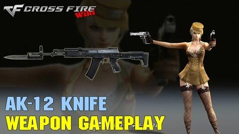 CrossFire - AK-12 Knife - Weapon Gameplay