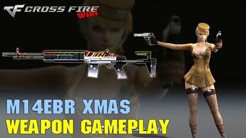 CrossFire - M14EBR Xmas - Weapon Gameplay