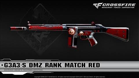CrossFire China G3A3-S DMZ Rank Match Red