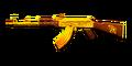 RIFLE AK-47-Gold