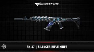 CF AK-47 Silencer Rifle Knife