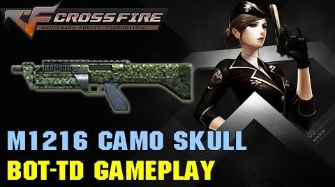 Chinese CrossFire - M1216 Camo Skull